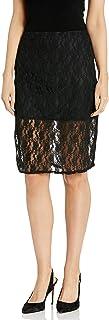 Star Vixen Women's Lace Pencil Skirt with Short Lining