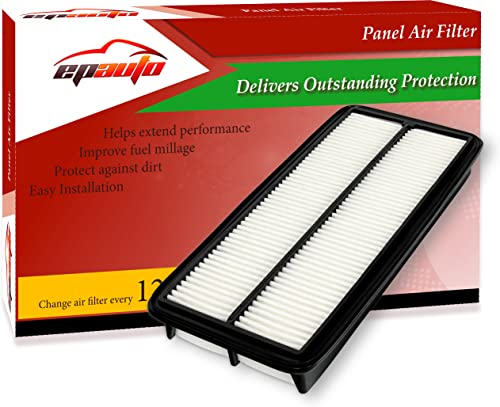 wholesale EPAuto GP600 (CA9600) Replacement lowest for lowest Honda/Acura Extra Guard Rigid Panel Air Filter for Accord V6 (2003-2007), RL (2005-2008), TL (2004-2006) outlet online sale