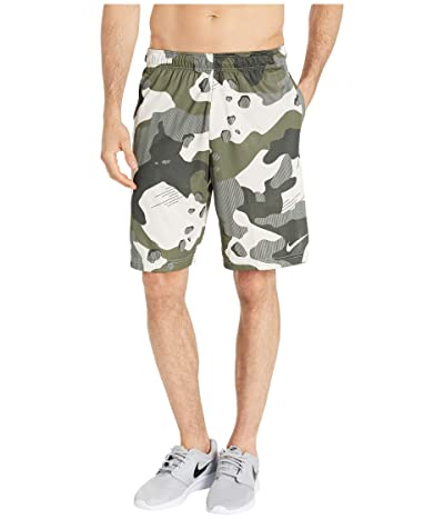 Nike Dry Shorts 4.0 All Over Print Camo (Light Bone/Black) Men
