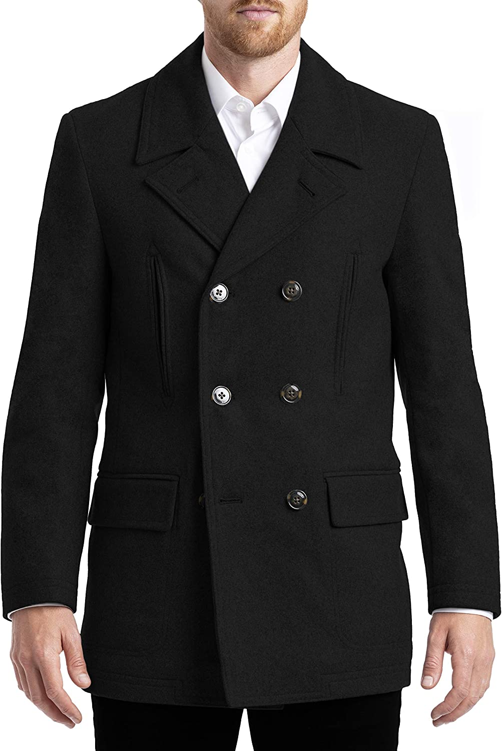 Super special price Chaps mens All-american Peacoat Credence Style Authentic