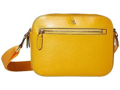 LAUREN Ralph Lauren Saffiano Hayes 20 Crossbody Medium (Sundance) Handbags