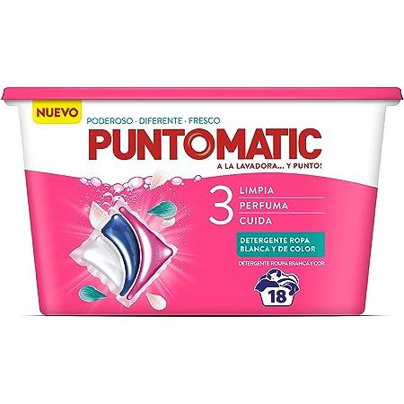 Puntomatic Detergente Pastilla Ropa Blanca - 24 Lavados ...