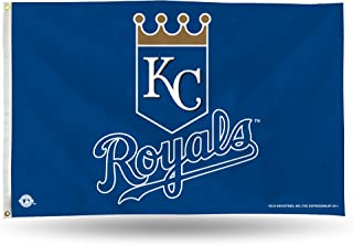 Kansas City Royals Official MLB 3' x 5' Banner Flag by Rico Industries