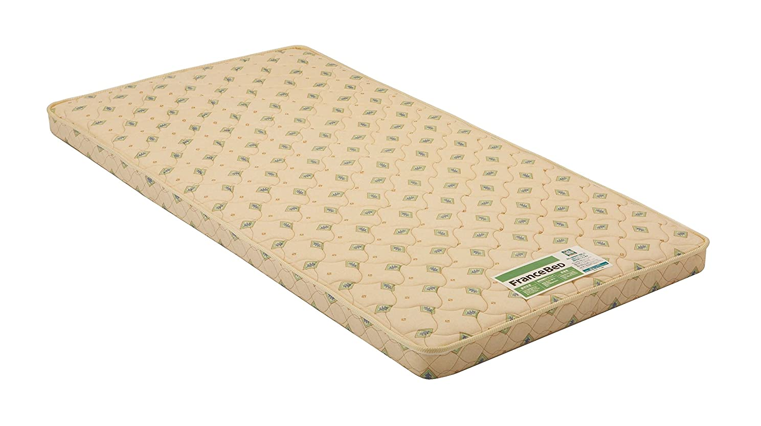 情熱省略する特異性フランスベッド 超薄型スプリングマットレス(硬めタイプ) JM-100 Sサイズ