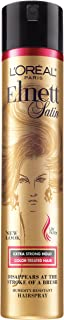 L'Oreal Paris Elnett Satin Extra Strong Hold Hairspray - Color Treated Hair 11 Ounce (1 Count) (Packaging May Vary)
