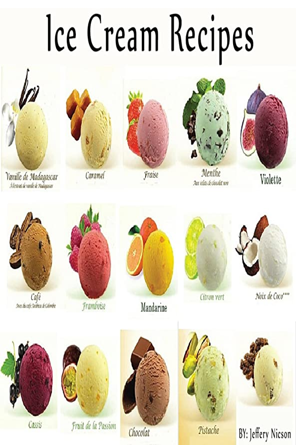 Ice Cream RECIPES: Quick, Easy and Healthy Ice Cream Recipes  For every member of the family (English Edition)