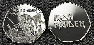 Álbumes de Monedas conmemorativos de Plata de Iron Maiden The Trooper, coleccionistas de