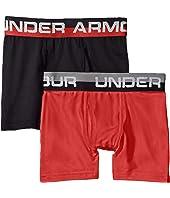 2-Pack Solid Performance Boxer (Big Kids)