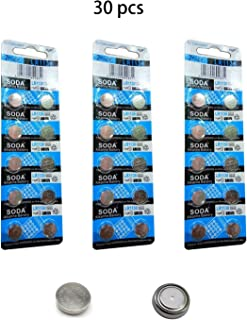DoDoLightness Battery Alkaline LR1130 AG10 Button Cell Batteries 1.5V Button Battery 30PCS