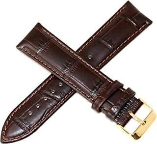 Lucien Piccard 22MM Genuine Leather Watch Strap 8