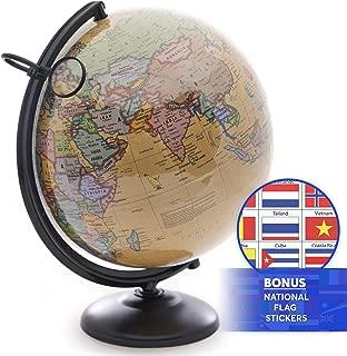 Best crystal world globe Reviews