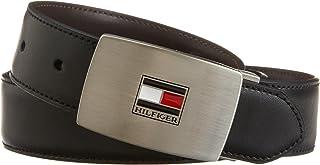 Tommy Hilfiger Belt Gift Set - Reversible Leather Belt for Men With 2 Adjustable Buckles