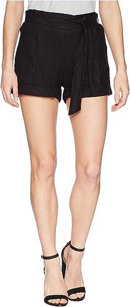 Oana Linen Shorts