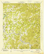 YellowMaps Corbin Knob NC topo map, 1:24000 Scale, 7.5 X 7.5 Minute, Historical, 1947, Updated 1947, 27 x 22 in
