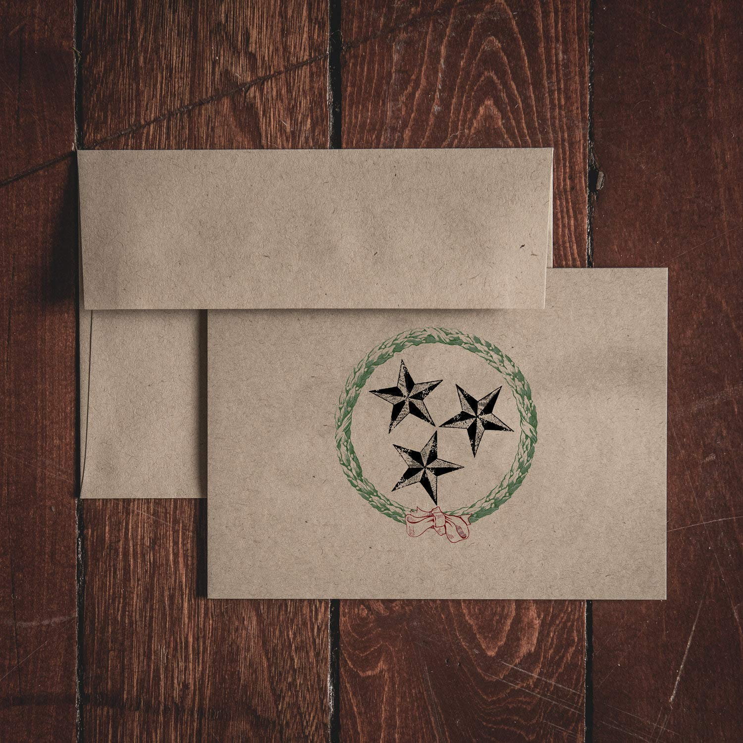 TN TriStar Christmas Stationery NEW Set Card Max 74% OFF Note