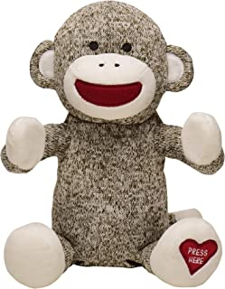 Baby Starters Sock Monkey Baby Toy, Sound and Motion Clapping Hands Toy (Happy and You Know It)