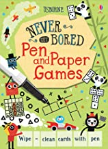 Pen and Paper Games (Never Get Bored Cards)
