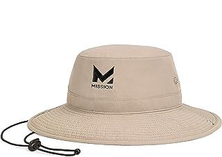 "Cooling Bucket Hat- UPF 50, 3"" Wide Brim, Cools When Wet"