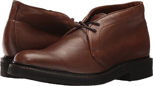 Cognac Deer Skin Leather