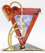 Gary Rosenthal Copper Wedding Glass Keepsake Holder