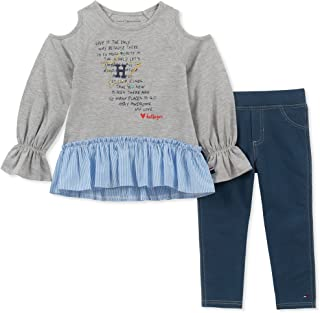 Baby Girls 2 Pieces Jegging Set