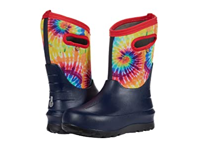 Bogs Kids Neo-Classic Tie-Dye (Toddler/Little Kid/Big Kid) (Navy Multi) Kid