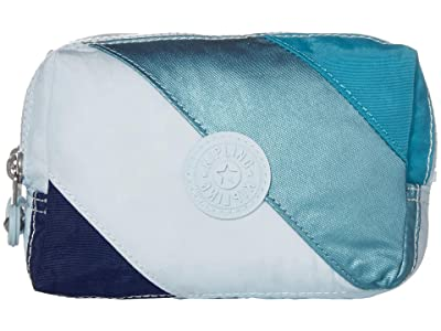 Kipling Elin Pouch (Blue Mix Block) Handbags