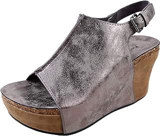 Pierre Dumas Hester-14 Womens Platform Wedge Open Toe Sandals