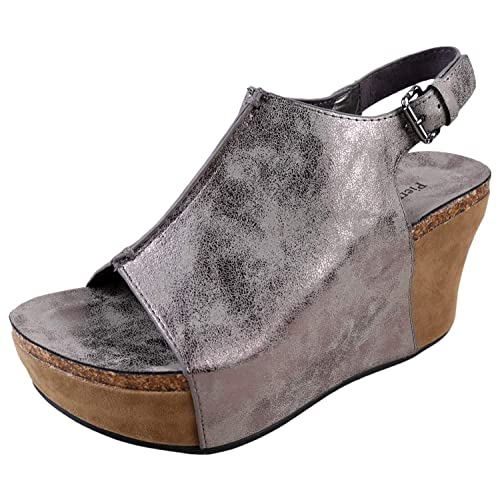 d86673381192 Pierre Dumas Hester-14 Women s Platform Wedge Open Toe Sandals