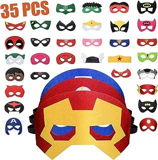 Mejor Mascaras De Superheroes De Marvel de 2020 - Mejor valorados y revisados