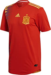 adidas Spain Home Soccer Authentic Jersey FIFA World Cup Russia 2018 (2XL)