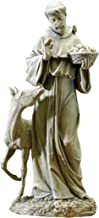 Joseph Studio 90789 Tall St. Francis with Horse Statue, 25.5-Inch