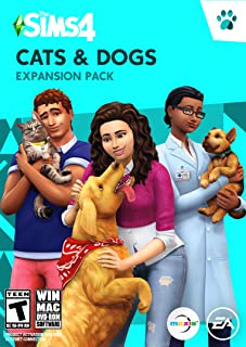 The Sims 4 Cats and Dogs (PC & Mac Download) Boxed Version