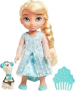 Frozen Basic Petite Elsa Doll with Olaf, Multi-Colour, 15 cm, 9034