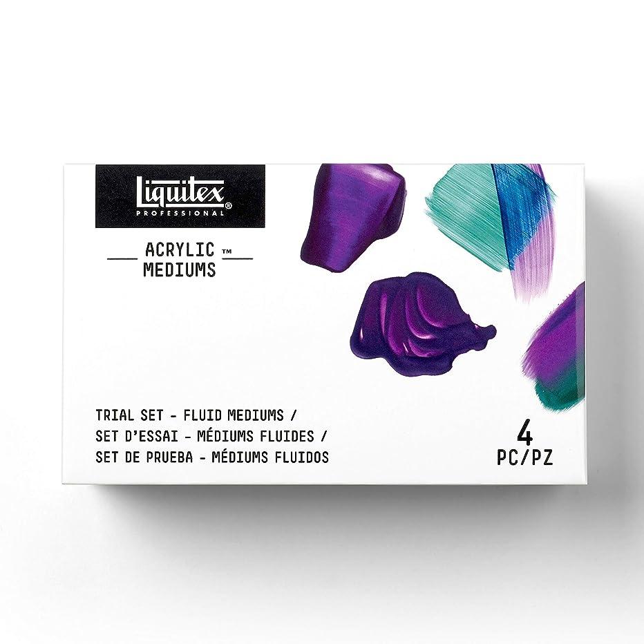 Liquitex 3699359 Professional Mediums Trial Set, White