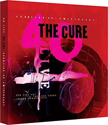40 Live Curaetion 25 + Anniversary Deluxe 4CD/2DVD
