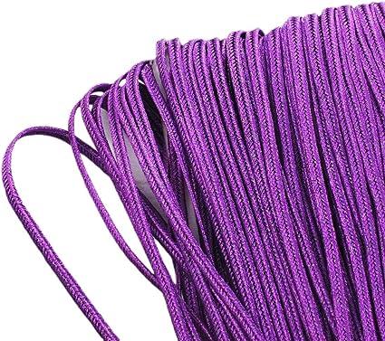 soutache nylon purple 3 mm the meter