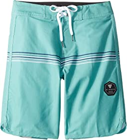 "Dredges 4-Way Stretch Boardshorts 17"" (Big Kids)"
