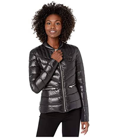MACKAGE Petra Zip-Up Puffer Jacket (Black) Women