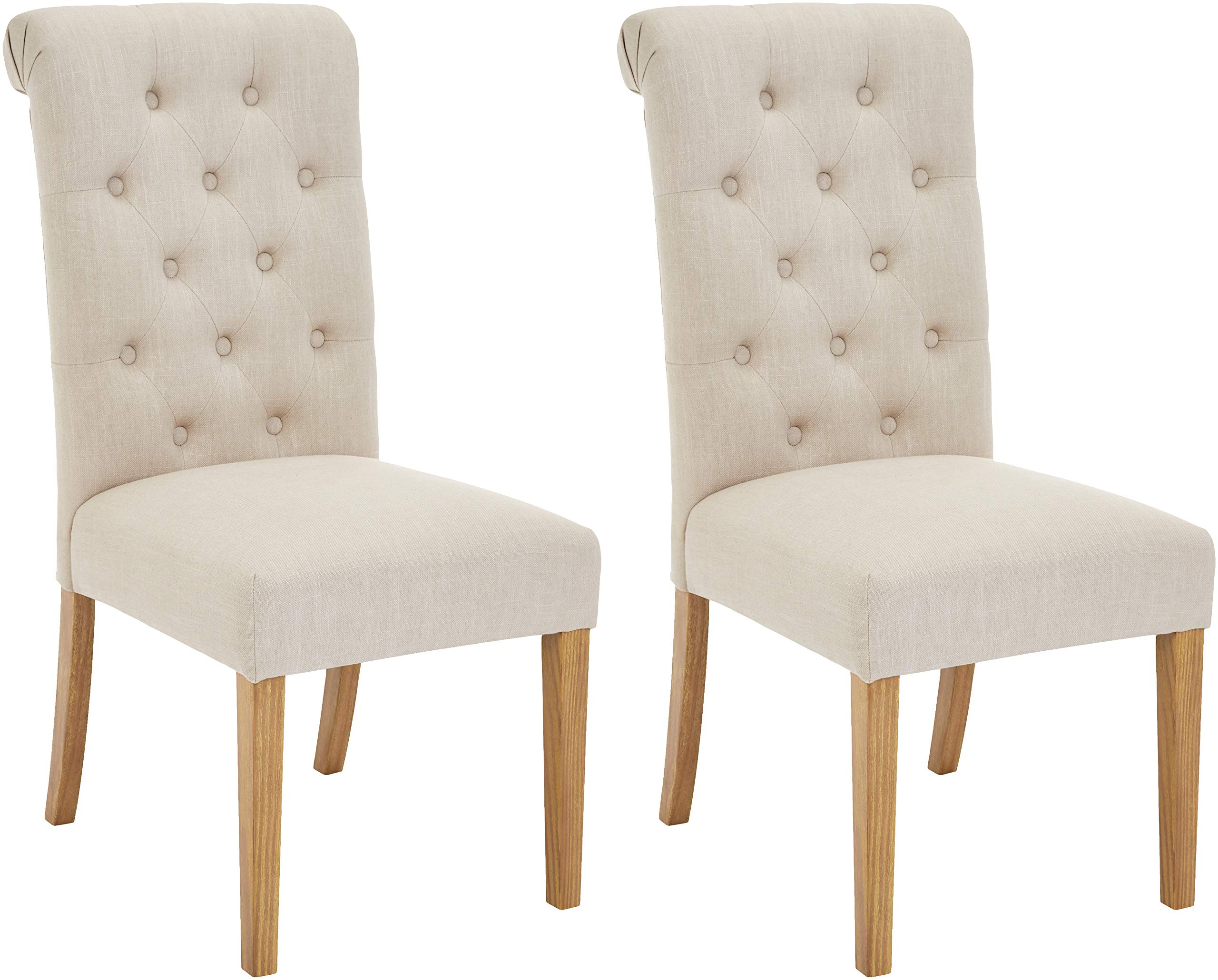Upholstered Dining Chairs Light Wood Chair Pads Amp Cushions