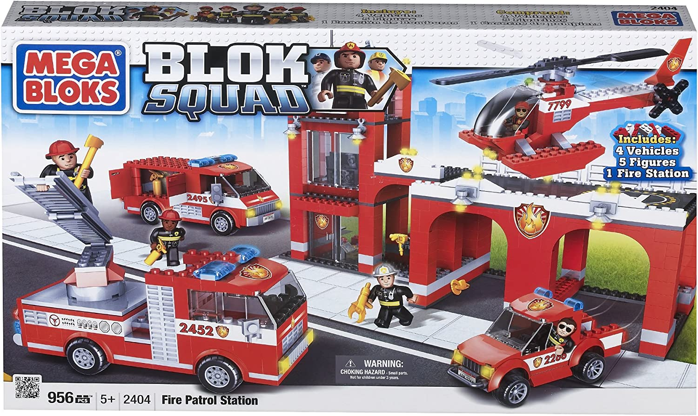 Mega Mega Mega Bloks Blok Squad Buildable Fire Patrol Station