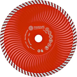 "Toolgal Tsunami Diamond Blade 9"" (230mm) - Wet & Dry Cutting Circular Saw for GP Construction/Concrete/Roof Tiles/Stone - ⅞"" Arbor"