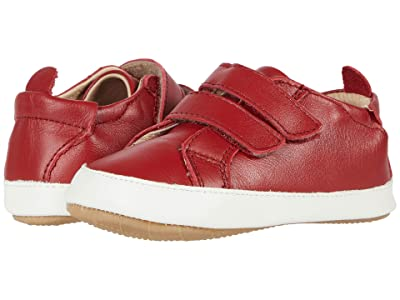 Old Soles Bambini Markert (Infant/Toddler) (Red/White) Boy