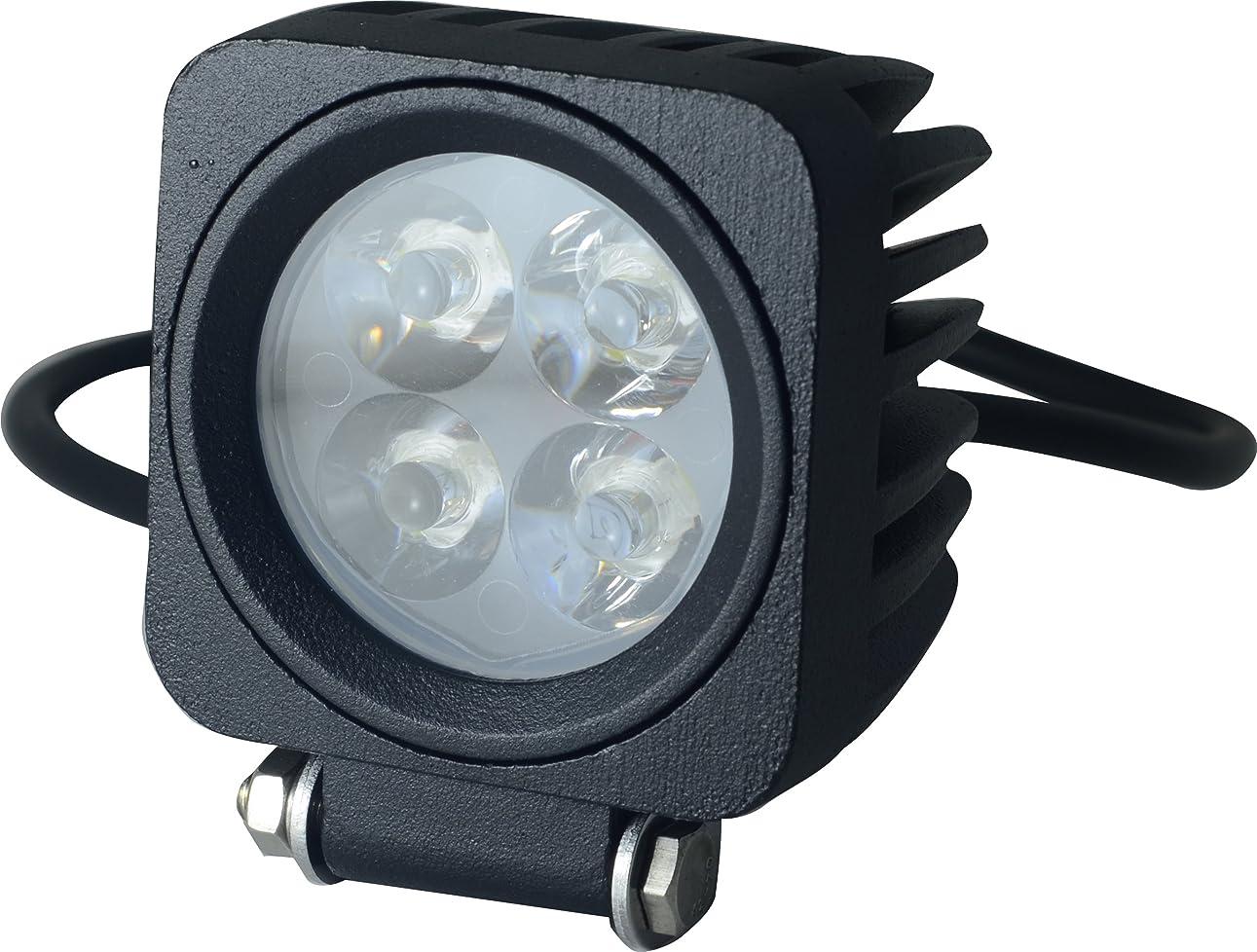 却下する慈悲深い過敏なSEIKOH LEDワークライト 高輝度 12W 4連 12V 24V対応 6000k 角型 汎用 広角タイプ 防水仕様