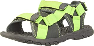 Poppers by Pantaloons Boy's Green Outdoor Sandals-1.5 Kids UK (34 EU) (880001443)