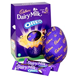 Cadbury Oreo Large Chocolate Easter Egg, 258 g