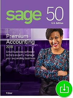 Sage 50 Premium Accounting 2018 U.S. 1-User [Download]