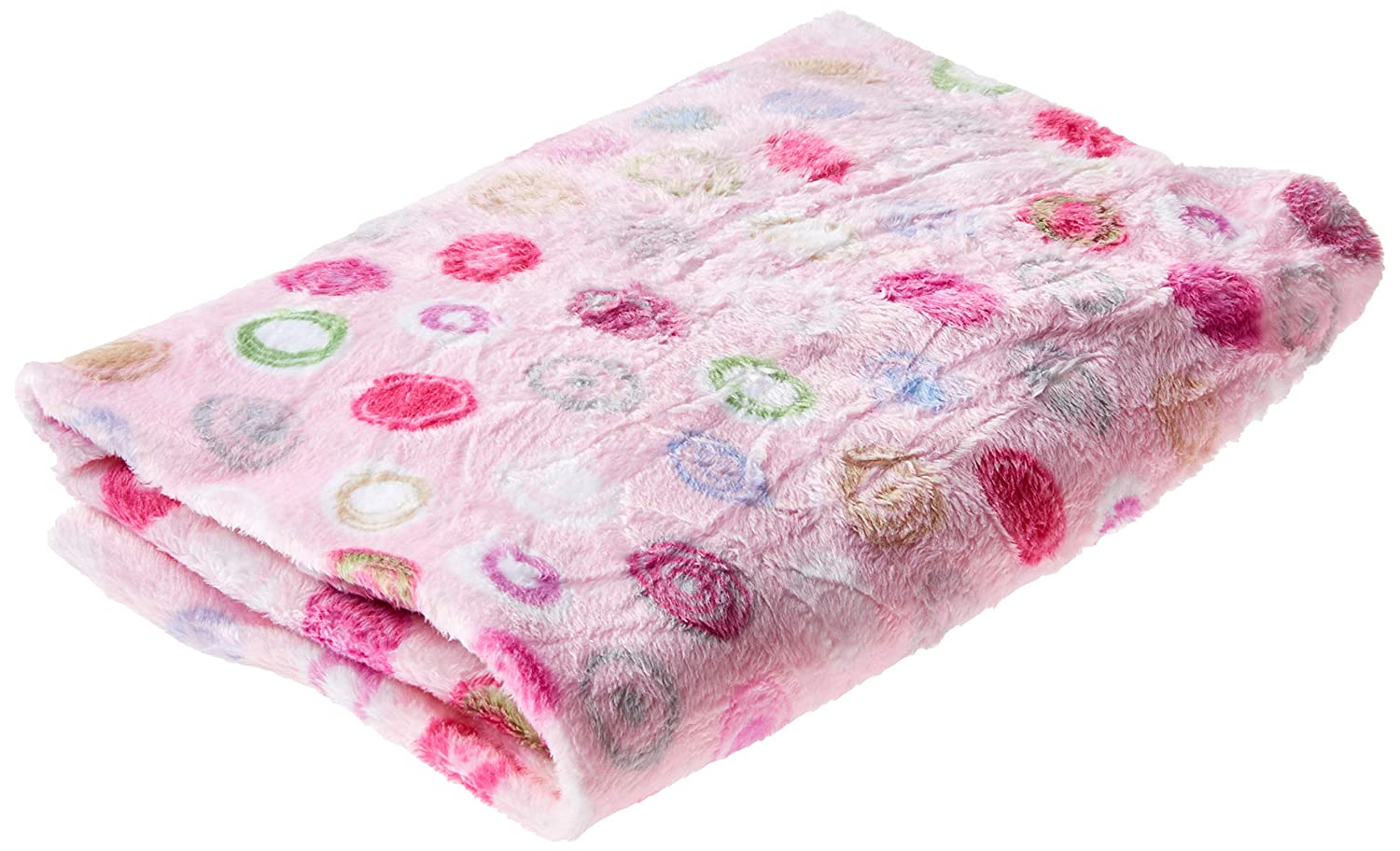 Summer Ultra Plush Changing Pad Cover, Pink Swirl