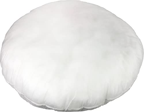 """2021 Foamily Round Floor Pillow wholesale 32"""" Premium Hypoallergenic Throw Pillows Insert popular for Couch or Bed Decorative Bedding - Made in USA outlet online sale"""