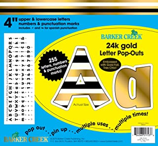 Best gold die cut letters Reviews